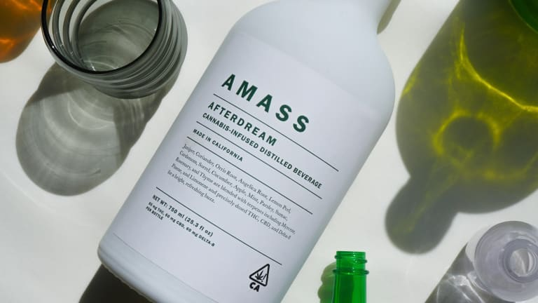 Amass launches its first cannabis-infused spirit, Afterdream