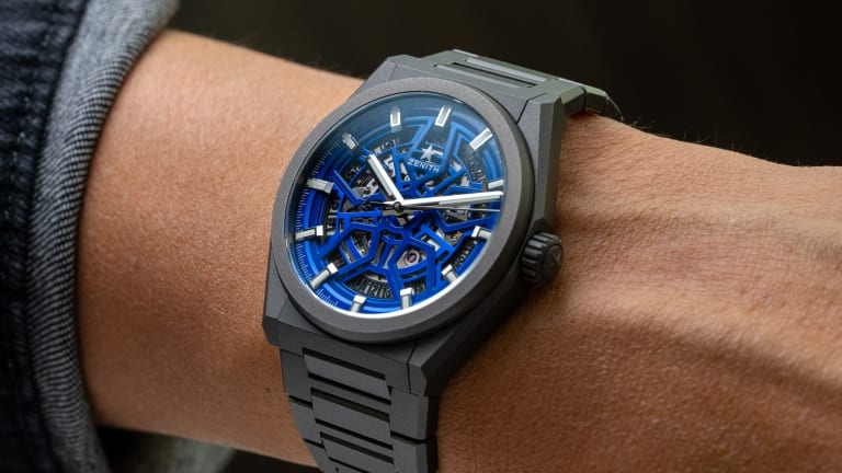"""Zenith and Time+Tide release the Defy Classic Skeleton """"Night Surfer"""""""