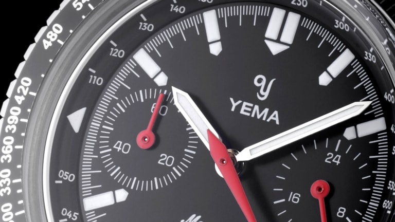 Yema reissues its racing-inspired Meangraf from the 1970s