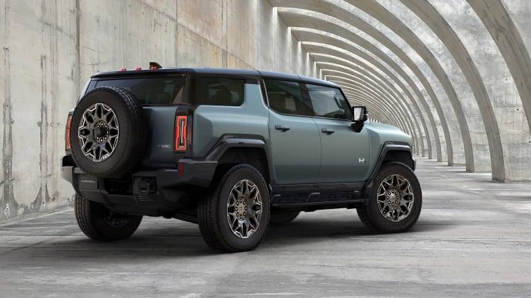 GMC unveils the Hummer EV SUV