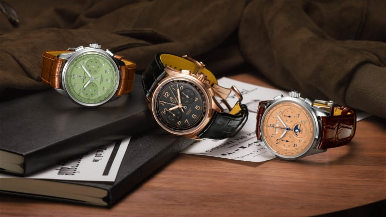Breitling pays homage to its founders with the Premier Heritage Collection