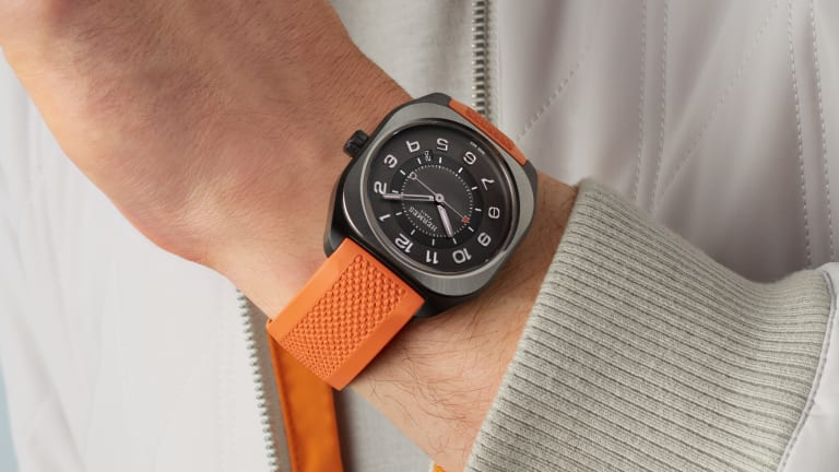 Hermès combines a sporting-inspired design with high-tech materials for their new H08 timepiece