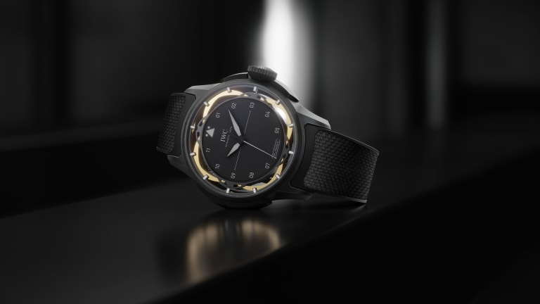 IWC debuts its patented shock absorber system in a futuristic take on the Big Pilot's Watch