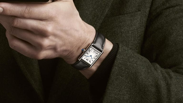 Cartier launches its first solar-powered timepiece