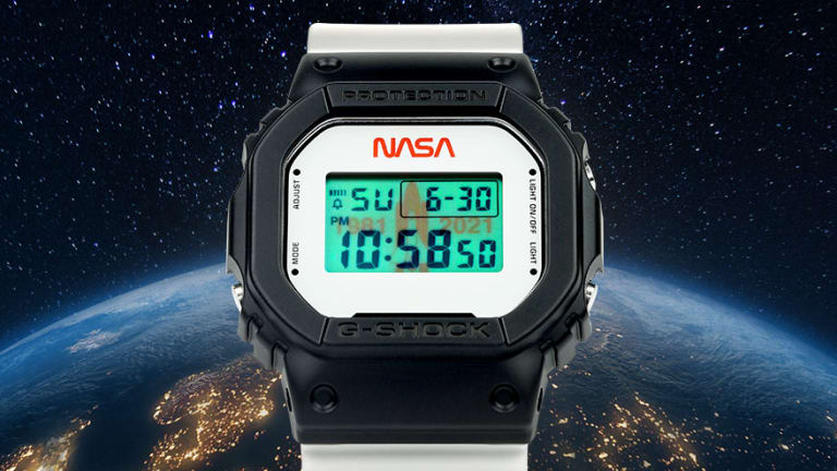 G-Shock releases its second watch with NASA