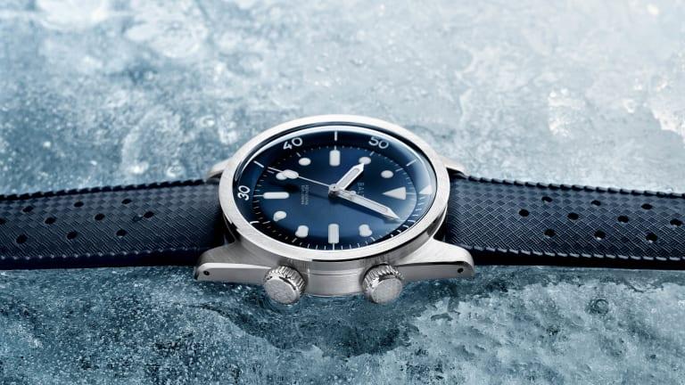 Baltic launches the Aquascaphe Dual-Crown