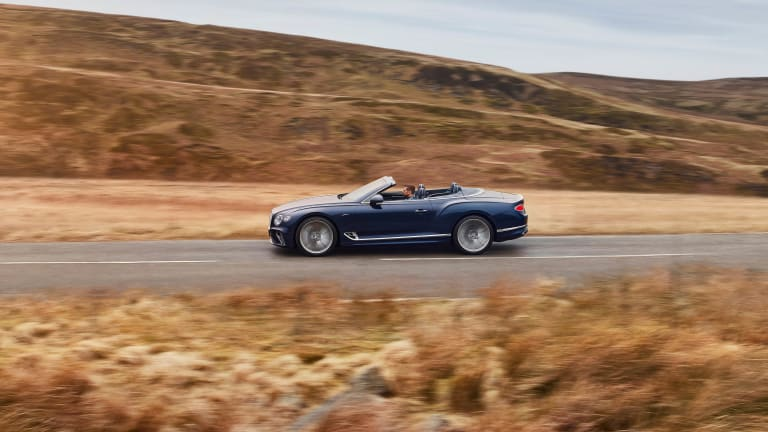 Bentley reveals the latest version of its ultimate convertible