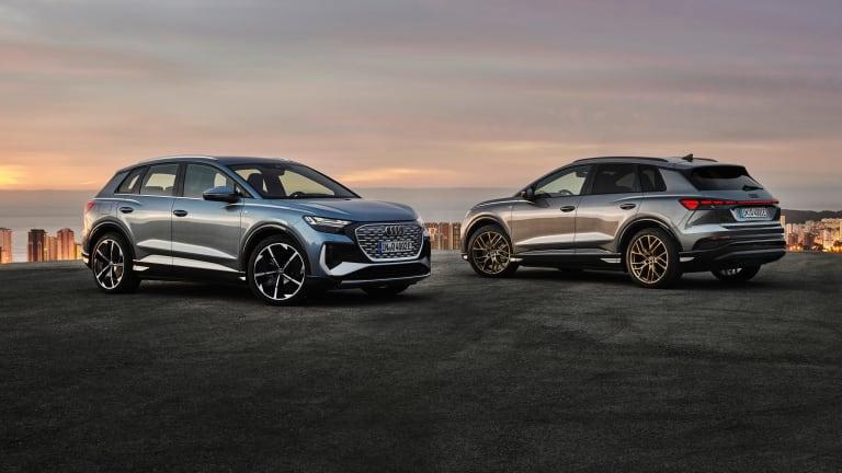 Audi unveils the 2022 Q4 e-tron and Q4 Sportback e-tron