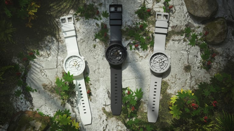 Swatch gets ready to release their first Bioceramic timepiece