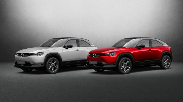Mazda announces plans to release the all-electric MX-30 in the US