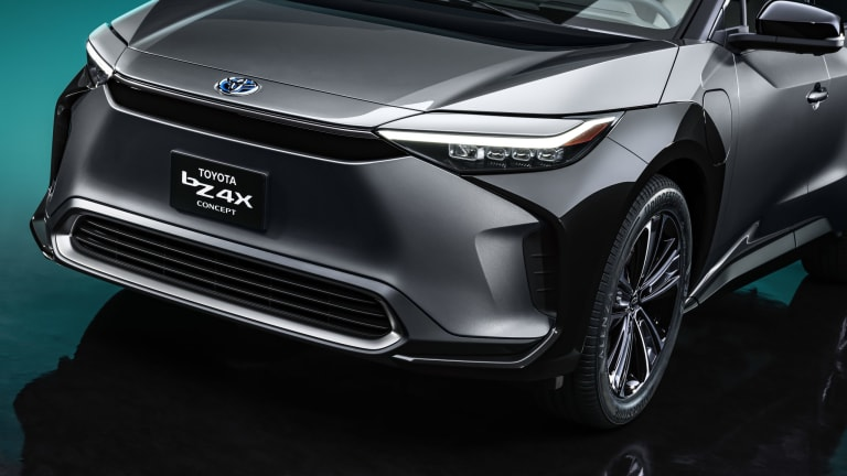 Toyota previews its all-electric lineup with the bZ4X SUV Concept