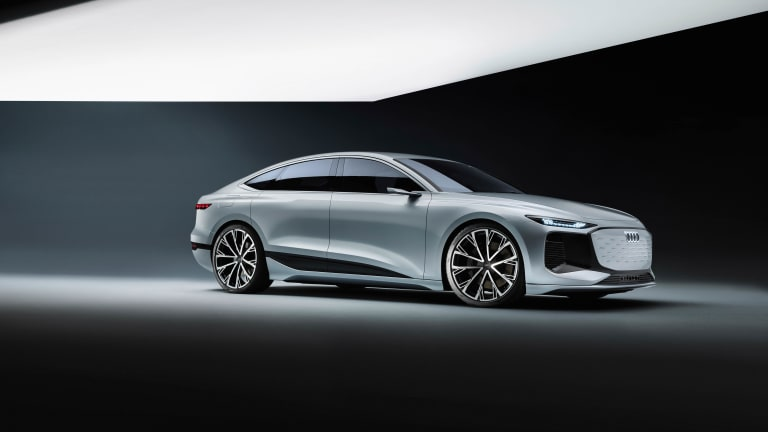 Audi electrifies the A6 with their latest e-tron concept