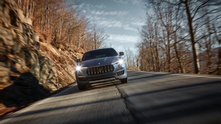 Maserati unveils the Levante Hybrid