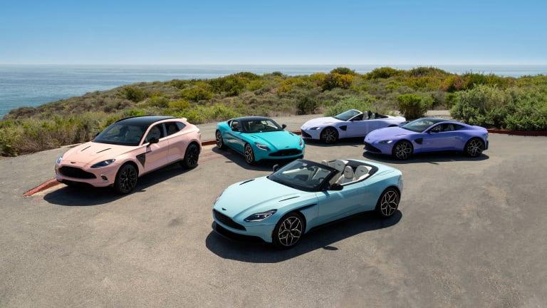 Aston Martin Newport Beach reveals the Pastel Collection