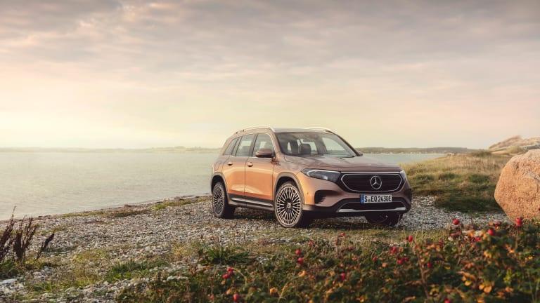 Mercedes unveils its third EQ model, the EQB SUV