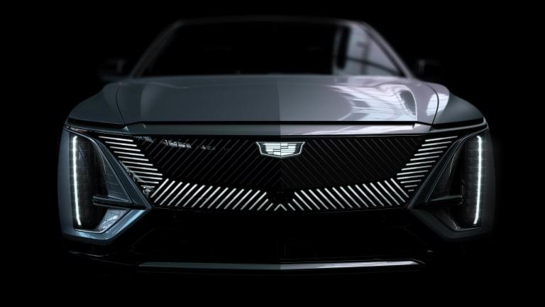 Cadillac reveals the production version of its Lyriq EV