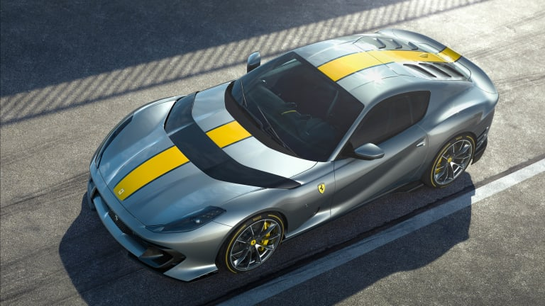 Ferrari previews a new limited edition 812 Superfast