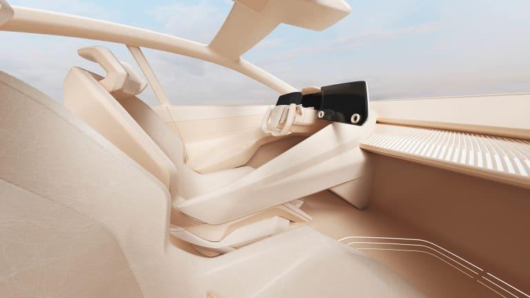 Lexus partners with Hender Scheme, Salehe Bembury, and Ondrej Zunka on a Virtual Interior series for the LF-Z concept car