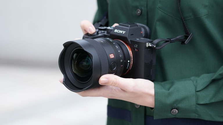 Sony adds a 14mm F18 ultra-wide prime to its G Master lineup