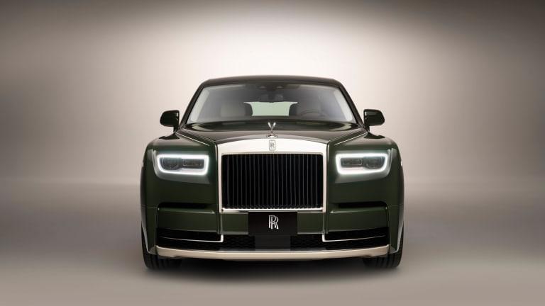 Rolls-Royce reveals the one-off Phanbtom Oribe