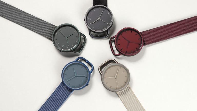10:10 by Nendo launches a monochromatic collection of Buckle timepieces