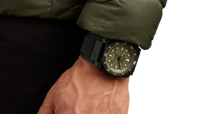 Bell & Ross releases a new military-inspired version of its BR 03 Diver