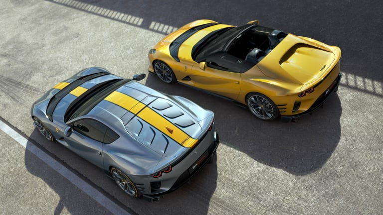 Ferrari unveils two new editions of the 812 Superfast