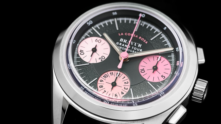 Bravur launches a new cycling-inspired chronograph