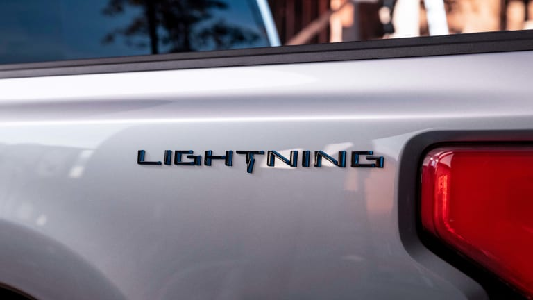 Ford announces the return of the Lightning badge as the name of their all-electric F-150