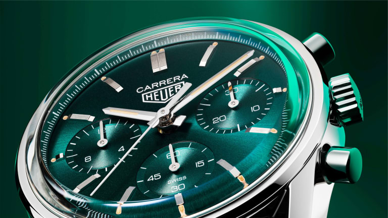Tag Heuer releases a limited edition Carrera with a teal dial