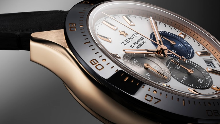 Zenith adds a rose gold option to its Chronomaster Sport line
