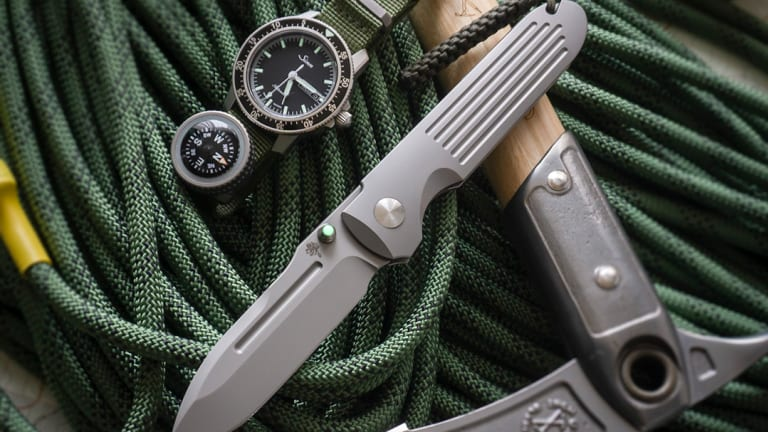 Prometheus Design Werx launches an integral lock version of its Invictus knife