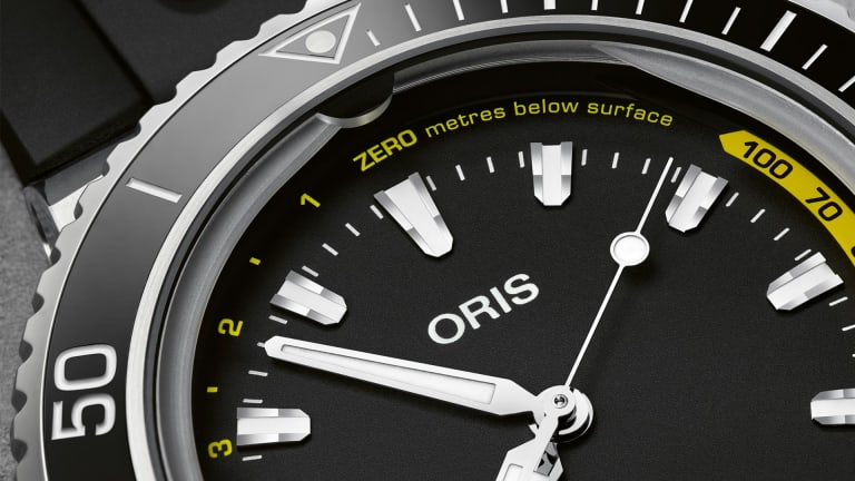 Oris releases its new and improved Aquis Depth Gauge