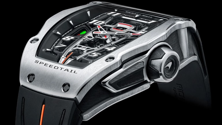 Richard Mille and McLaren reveal the RM 40-01