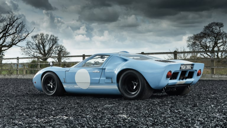 This 1969 GT40 was the last GT40 ever made by Ford