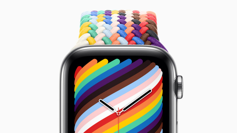 Apple launches its latest Pride Edition Apple Watch bands