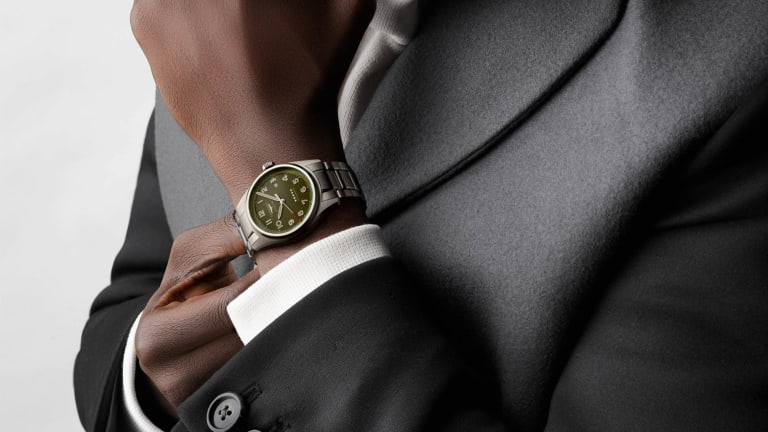 Longines releases a green version of its Spirit watch
