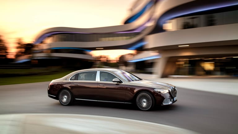 Mercedes reveals the new king of the S-Class lineup