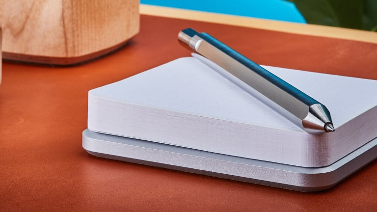 Grovemade just upgraded your sticky notes with machined metal