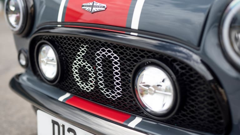 David Brown Automotive unveils a performance version of its Mini Remastered