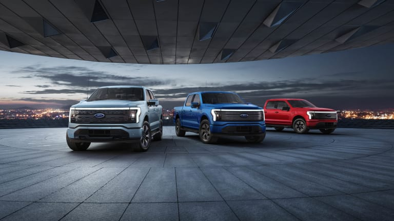 Ford reveals the all-electric F-150 Lightning