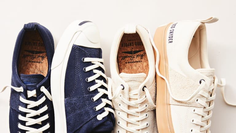 Todd Snyder releases his first collaboration with Converse