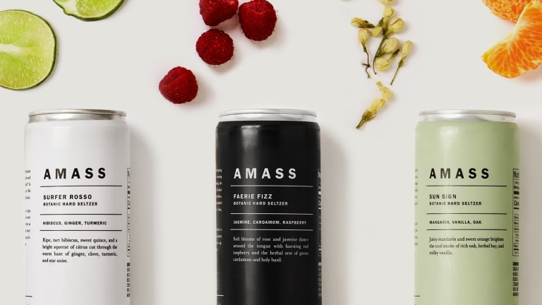 Amass brings a tasteful approach to hard seltzer...no pun intended