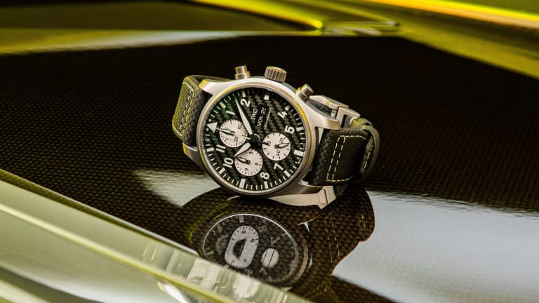 """IWC and Mercedes-AMG reveal their performance-inspired Pilot's Watch Chronograph Edition """"AMG"""""""
