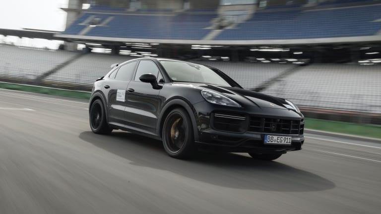 Watch   Porsche previews its upcoming high-performance Cayenne