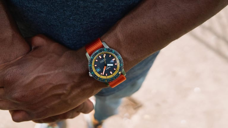 Worn & Wound and Zodiac introduce an outdoor-inspired version of the Super Sea Wolf