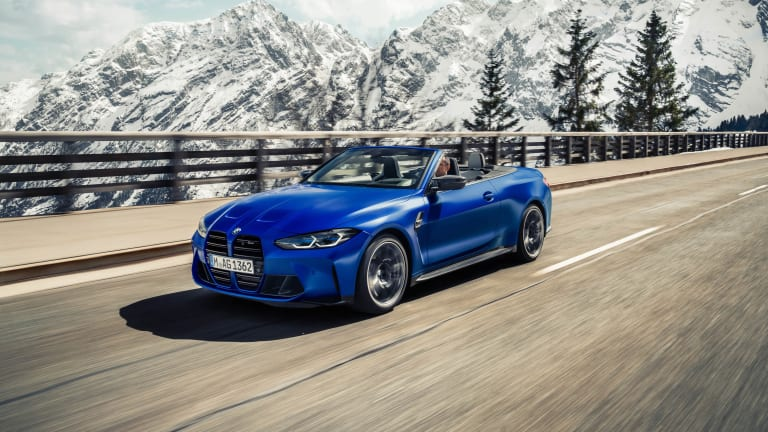 BMW unveils the M4 Competition xDrive Convertible