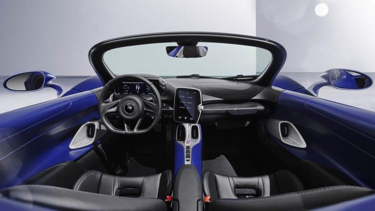McLaren releases a windshield version of the Elva roadster