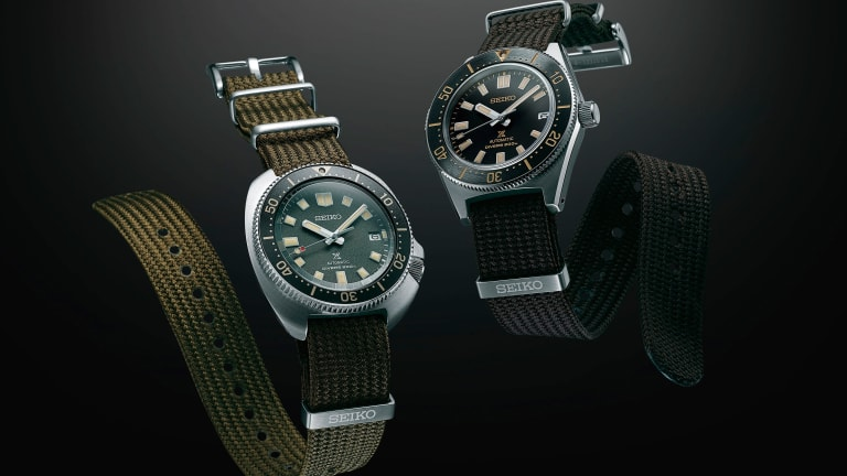 Seiko introduces two new updates to its 1965 and 1970 dive watches