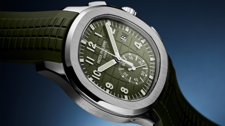 Patek Philippe releases a white gold version of the Aquanaut Chronograph